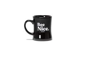 Politics Bee Nice. Mug  - Black