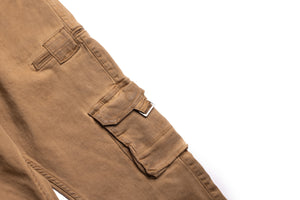 Serenede Tigers Eye Cargo Jeans - Brown