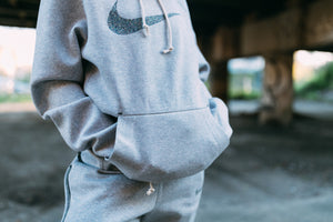 Nike 50 Pullover Hoodie - Multi-Color/Wolf Grey/Black