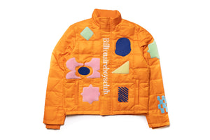Billionaire Boys Club BB Bundled Jacket - Orange Peel