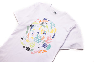 Billionaire Boys Club BB Helmet SS Tee - White