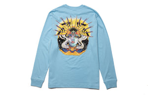 Billionaire Boys Club BB Stratas LS Tee - Sky Blue