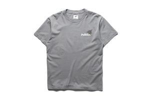 Politics Don't Bee Mad S/S Tee - Grey