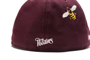 Politics x New Era Busy Being Nice Low Pro 5950 - Maroon