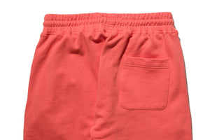 Politics Sweatpants - Coral/White