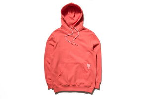 Politics Hoodie - Coral/White