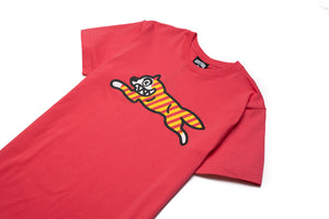 Ice Cream Yikes Stripes SS Tee - Red