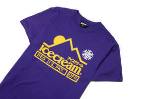 Ice Cream At The Top SS Tee - Violet