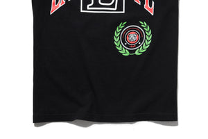 Politics Arch Collegiate T-Shirt - Black/Red
