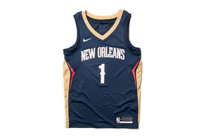 Nike NBA Zion Williamson New Orleans Pelicans Alternate Swingman Jersey - Navy