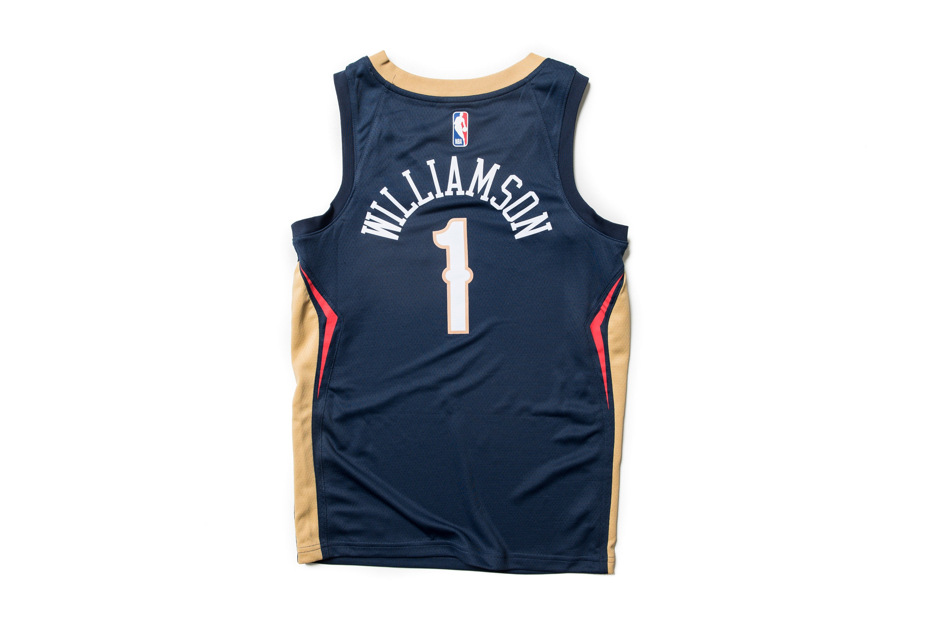 Nike Nba Zion Williamson New Orleans Pelicans Alternate Swingman Jersey Navy