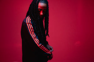 Adidas x 424 Track Top - Black/Red