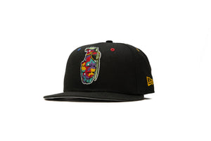 New Era x Art By Jay Grenade 59FIFTY Fitted Hat - Black/Multi