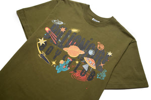 Billionaire Boys Club BB Universe SS Tee - Avocado