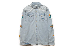Billionaire Boys Club BB Hillside LS Woven - Infinite