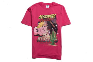 Billionaire Boys Club BB Atlantis 2 SS Tee - Fandango Pink