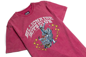 Billionaire Boys Club BB Rider SS Knit - Fandango Pink