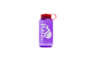 Politics Camping Nalgene Water Bottle - Purple/Red