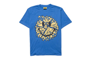 Chinatown Market Smiley Tee - Blue