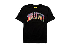 Chinatown Market Watercolor Arc Tee - Black