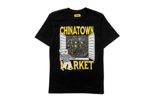Chinatown Market Window Tee - Black