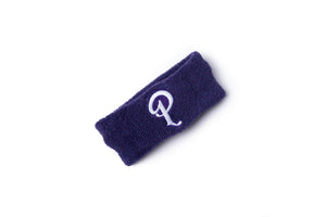 Politics Embroidered 'P' Logo Headband - Purple