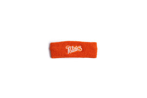 Politics Embroidered Headband - Orange