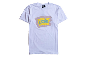Ice Cream Flag SS Tee - White