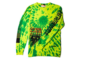 INDVLST Double Helix Volume LS Tee - Green