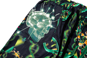 INDVLST DNA Camo Shorts - Black/Multi