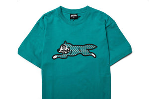 Ice Cream Fossil Fuel SS Tee - Green Blue Slate
