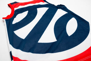 Jordan France JD Jump Jersey - White/Navy/Red