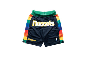 Just Don Denver Nuggets Shorts - Navy
