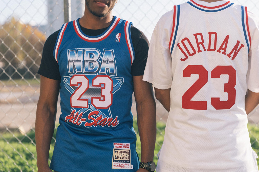 on sale 38b45 6cdd0 Mitchell & Ness All Star East '93 Michael Jordan Authentic Jersey - Blue