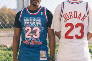 Mitchell & Ness All Star East '91 Michael Jordan Authentic Jersey - White