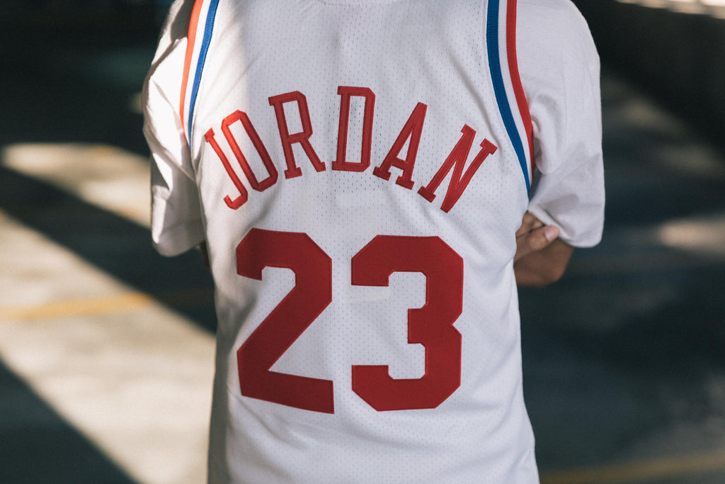 cheaper 24296 78fc2 Mitchell & Ness All Star East '91 Michael Jordan Authentic Jersey - White