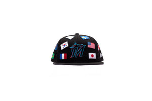 New Era Miami Marlins 59Fifty Fitted - Black