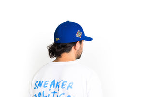 Politics New Era 'Play Ball' Fitted Low Profile Hat - Royal/Gold