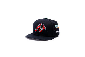 Offset New Era Atlanta Braves 59Fifty Fitted - Navy