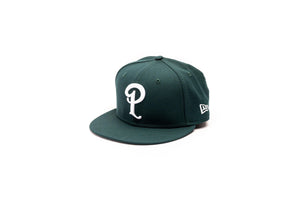 Politics New Era 'P' 59Fifty Fitted - Green