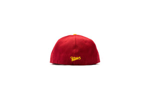 Politics New Era 'P' 59Fifty Fitted - Cardinal/Canary