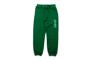 Pleasures Logic Reverse Terry Sweatpants - Green