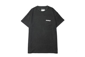Purple Brand Worldwide Tee - Black