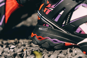 Reebok DMX Trail Shadow - Black/Cold Grey/Scarlet