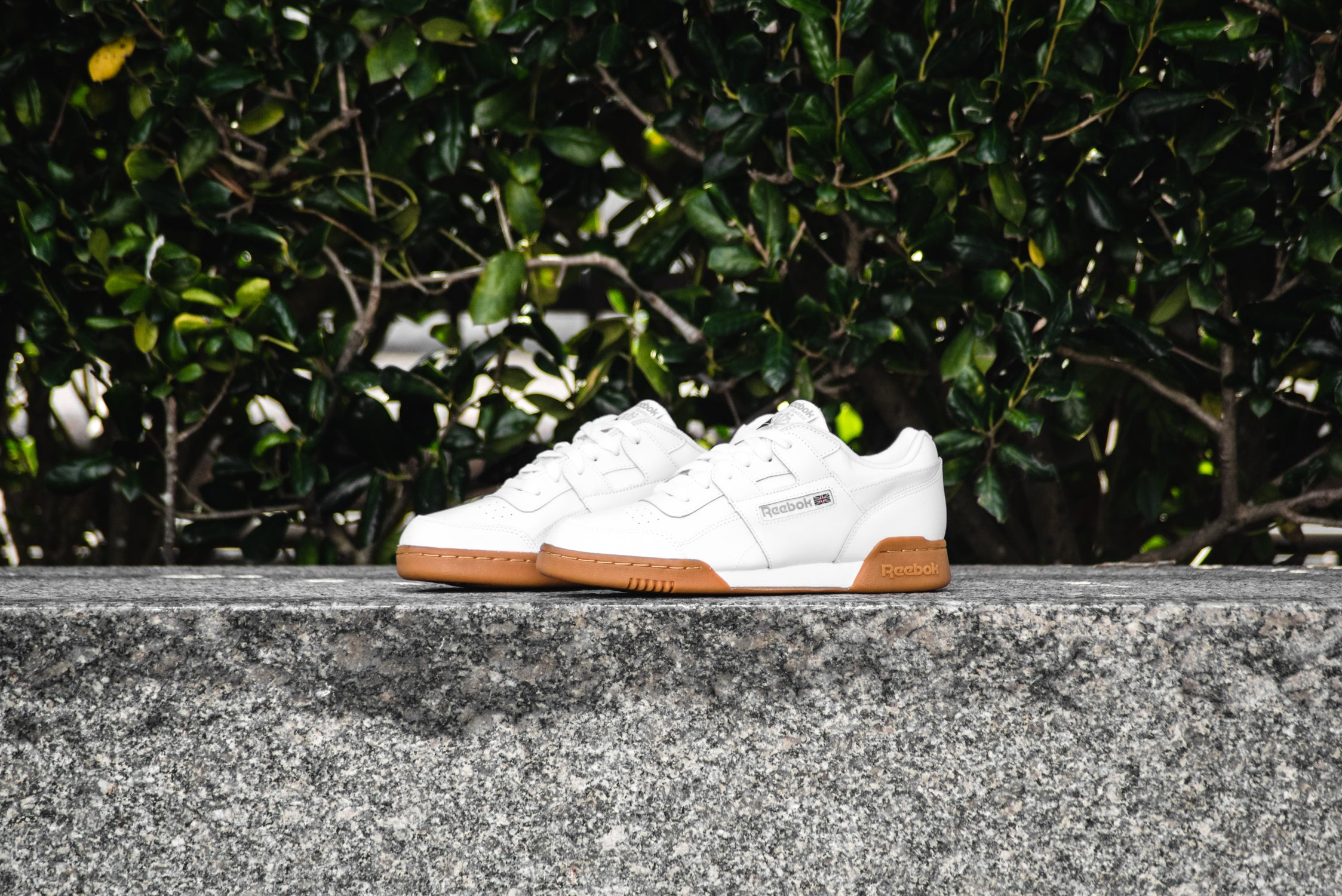 reebok workout plus white gum