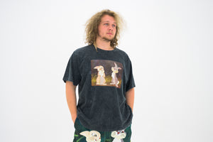 Rochambeau Graphic Tee - Anthracite