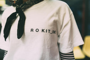 Rokit The Silence SS Tee - White