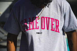 Rokit Game Over SS Tee - Grey