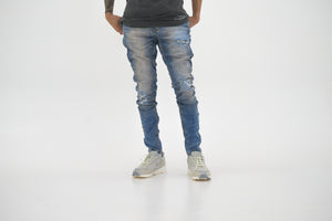 Serenede Atlantic Mist Jeans - Blue
