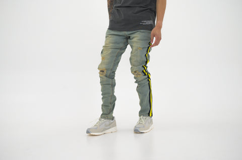 9740b285e9a86 Serenede Tesla Beam Jeans - Yellow
